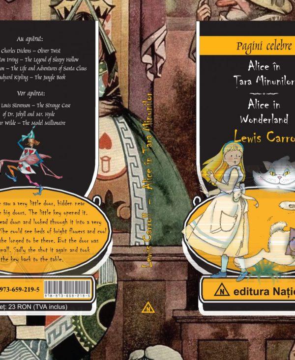 Alice în Ţara Minunilor - Ediţie bilingvă (română - engleză)
