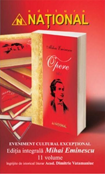 Ediţie integrală Mihai Eminescu - 11 volume (REDUCERE 50%)