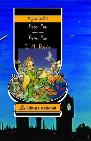 Peter Pan - Ediţie bilingvă (română - engleză)